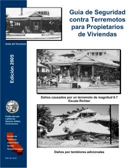 Guía de Seguridad contra Terremotos para Propietarios
