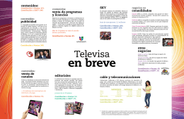 Televisa en Breve