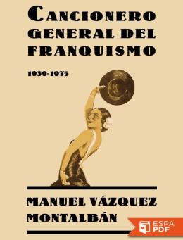 Cancionero general del franquis - Manuel Vazquez