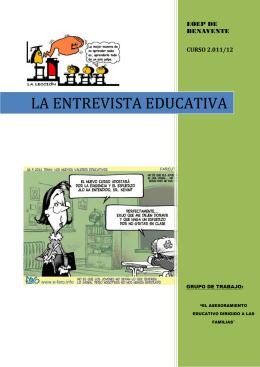LA ENTREVISTA EDUCATIVA - EOEP de Benavente