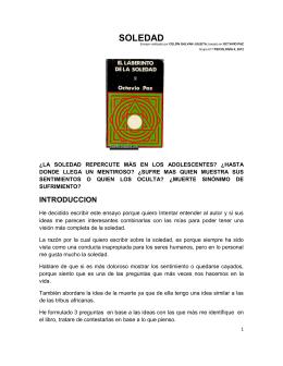 SOLEDAD - Portal Académico del CCH