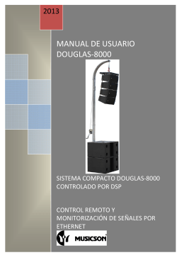 MANUAL DE USUARIO DOUGLAS-8000
