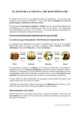 EL JUEGO DE LA CERVEZA | THE ROOT BEER GAME