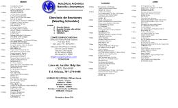 Línea de Auxilio/ Help line (787) 763-5919 Tel. Oficina, 787-274-0488
