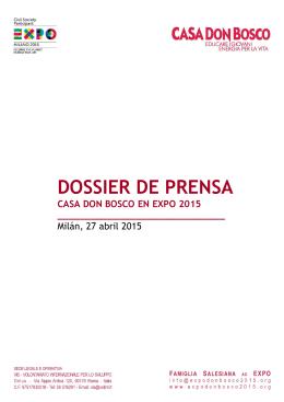 formato pdf - Expo Don Bosco 2015