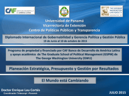 PowerPoint Template - Universidad de Panamá