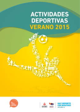 ACTIVIDADES DEPORTIVAS VERANO 2015
