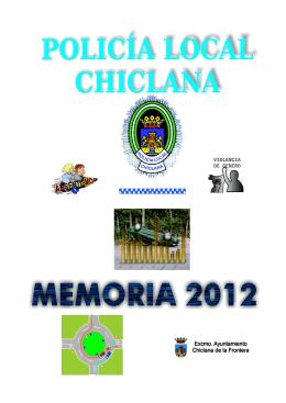 POLICÍA LOCAL CHICLANA Memoria 2012 1