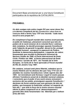 Constitució » Text completCONSTITUCIO