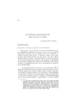 62 EL PENSAMIENTO METAFISICO DEL PBRO. DR. JUAN R