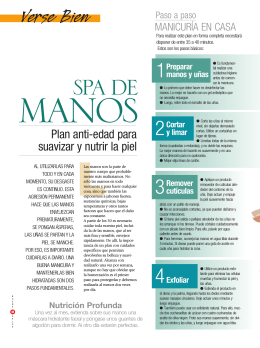 Spa de manos - Buena Salud