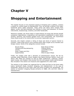 Shopping and Entertainment