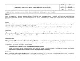 Objetivo Alcance Referencias Responsabilidades Definiciones