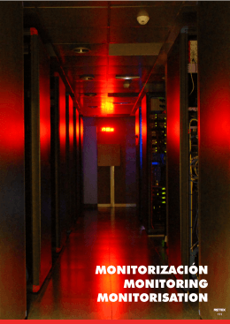 MONITORIZACIÓN MONITORING MONITORISATION