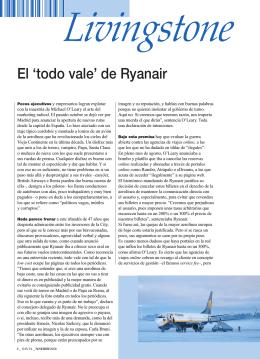 El `todo vale` de Ryanair