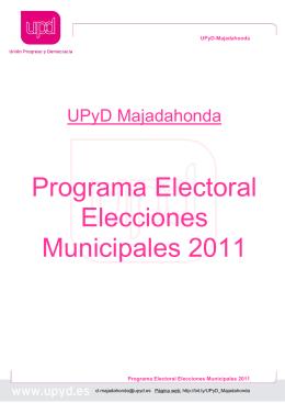 Programa Electoral UPyD Majadahonda EDUCACIÓN