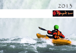 Catálogo Kayak Sur 2013