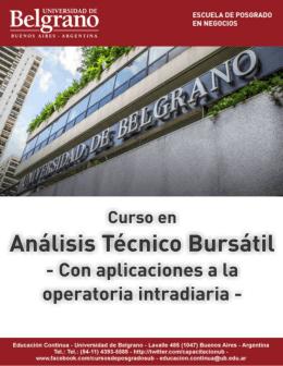 Análisis Técnico Bursátil - Con aplicaciones a la operatoria intradiaria