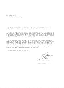 Historia del Club por José Luís Díaz Soro