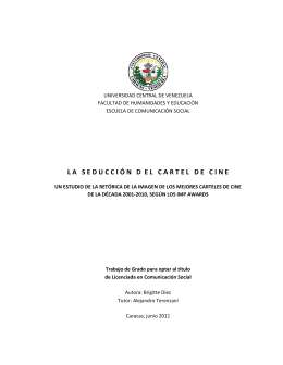 Tesis C11 D5 - Saber UCV - Universidad Central de Venezuela