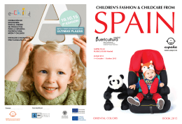 CHILDREN`S FASHION & CHILDCARE FROM