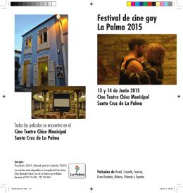 Festival de cine gay La Palma 2015