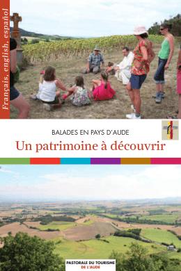 Un patrimoine à découvrir - Site du Diocèse de l`Aude
