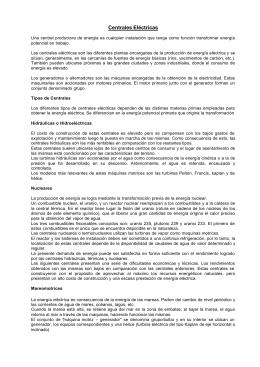 "Centrales Eléctricas - IAE ""General Mosconi"""