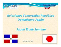 Relaciones Comerciales República Dominicana