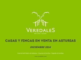 Casas y FINCAS EN VENTA en asturias