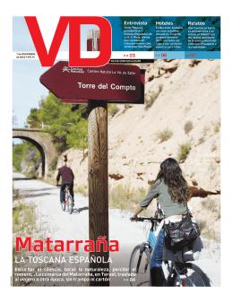 Matarraña: La Toscana Española