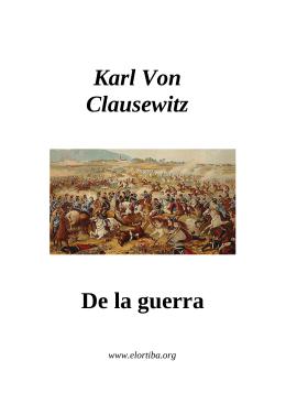 Kart von Clausewitz