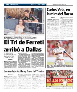 Carlos Vela, en la mira del Barsa