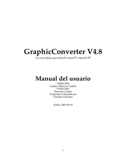 GraphicConverter V4.8