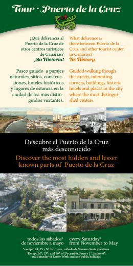Descargar el folleto del Tour Puerto de la Cruz…