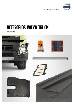 Descargar el folleto de accesorios del Volvo FMX (pdf