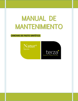 Descarga y revisa el Manual de Mantenimiento para cuidar