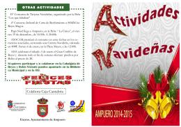 Colabora Caja Cantabria - Ayuntamiento de Ampuero
