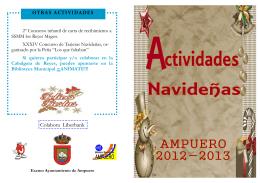 Programa navide?o 2012 - Ayuntamiento de Ampuero