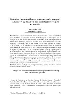 Modelo para publicação - Filosofia e História da Biologia