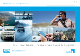 Brochure Travel Guard