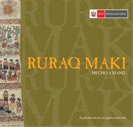 Ruraq Maki - Ministerio de Cultura