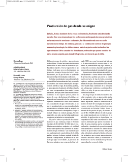 Oilfield Review Invierno de 2006/2007