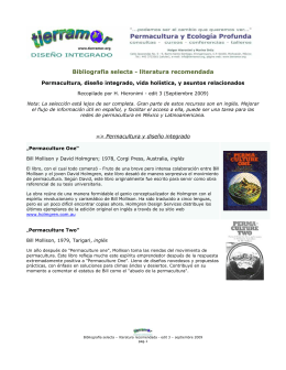 Bibliografia selecta - literatura recomendada