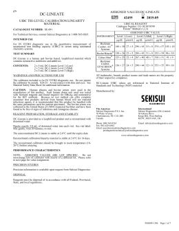 DC-LINEATE - Sekisui Diagnostics
