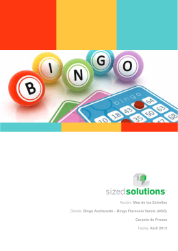 Bingo Avellaneda - Sized Solutions
