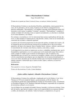 Sobre el Racionalismo Cristiano, en formato PDF
