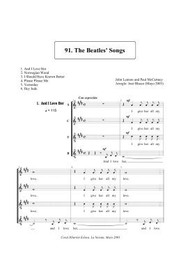 91. The Beatles` Songs