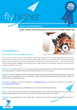 Competition 1 - Fly Higher Project