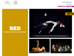 red nacional de festivales de danza catálogo